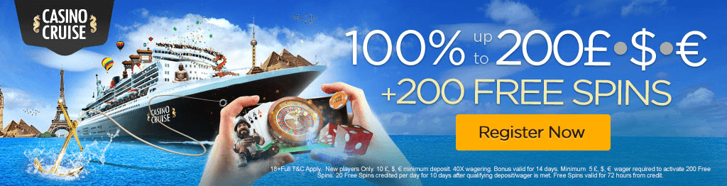 casino cruise review and uk bonus