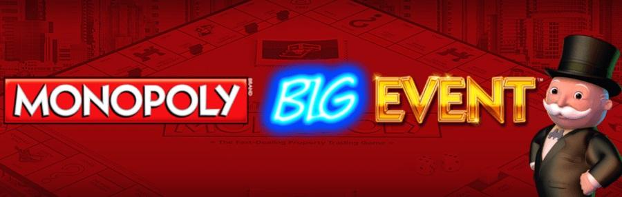 Monopoly Big Event Slot Review - Casinotastic co uk